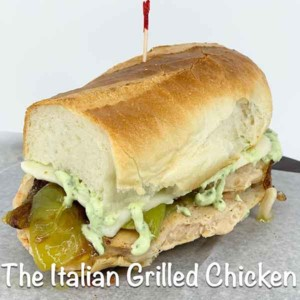 Italian Grilled Chicken Sandwich